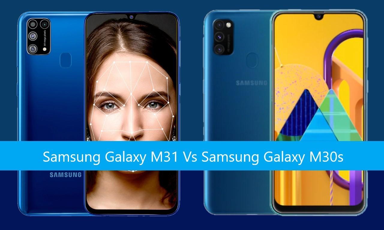 Samsung Galaxy M31 Vs Samsung Galaxy M30s Header