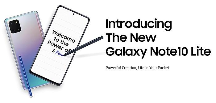 Samsung Galaxy Note10 Lite DOKU