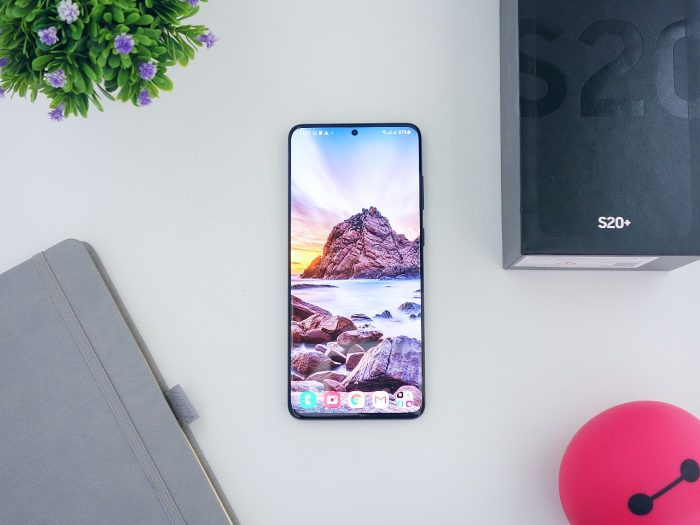 Samsung yang Ada NFC - Samsung Galaxy S20+