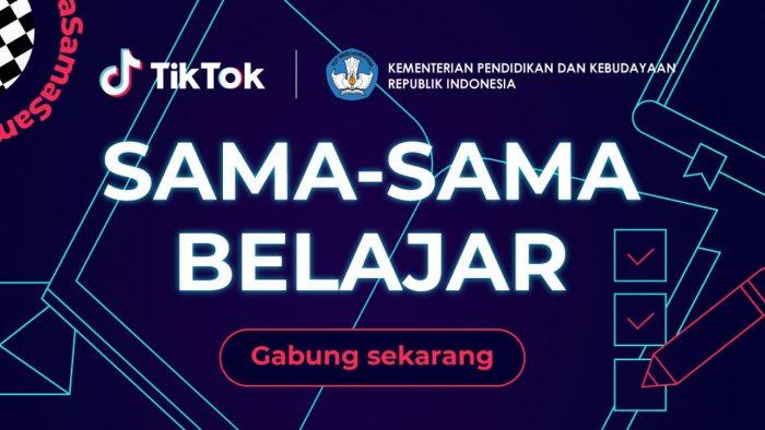 TikTok SamaSamaBelajar header