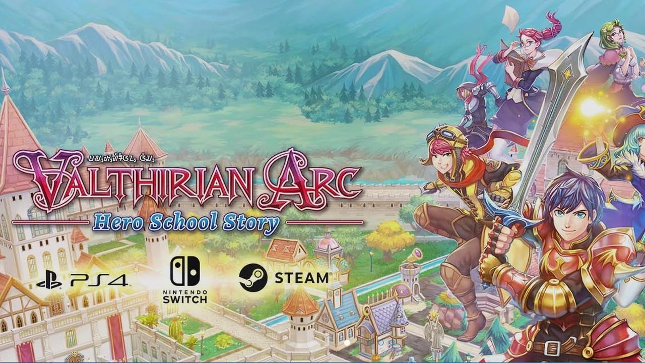 Valthirian Arc Hero School Story Header
