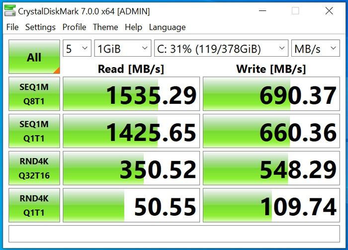 VivoBook A412UA SSD