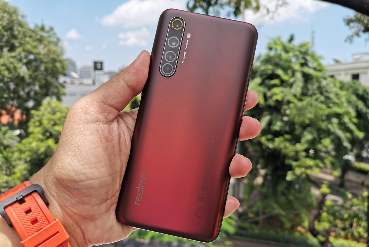 realme X50 Pro 5G Back