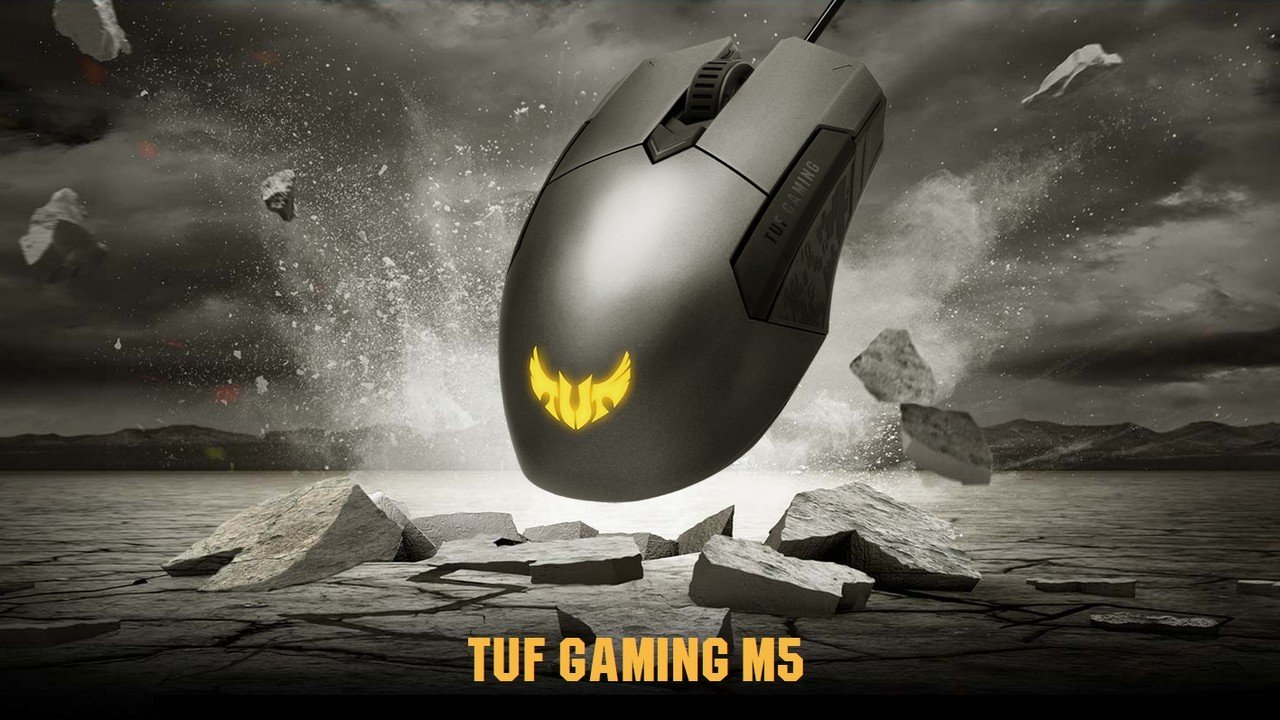ASUS TUF Gaming M5 Mouse Header
