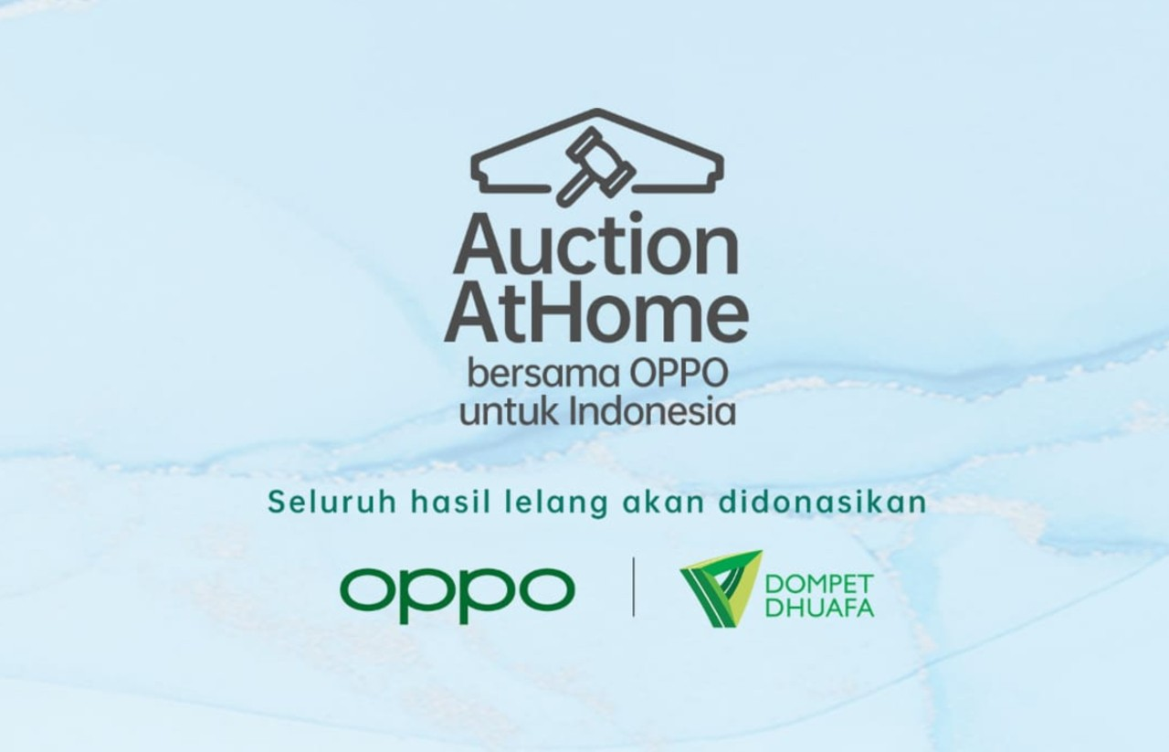 Auction At Home Bersama OPPO untuk Indonesia Header