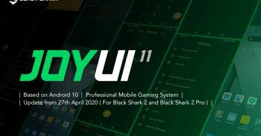 Black Shark Rilis Sistem Operasi Baru JOYUI 11 Header