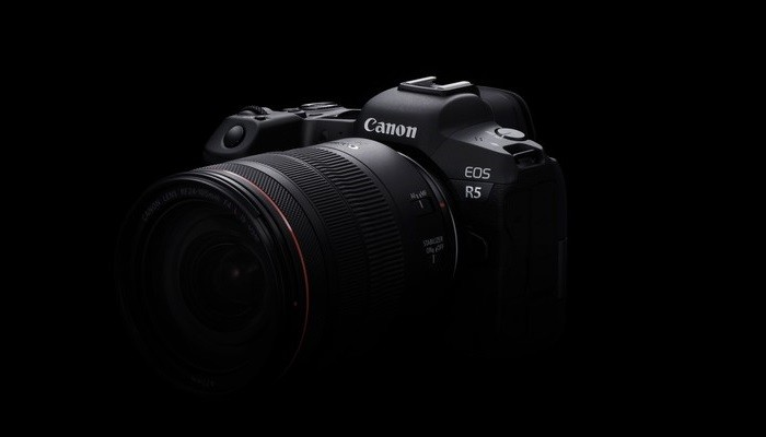 Canon EOS R5 Desain
