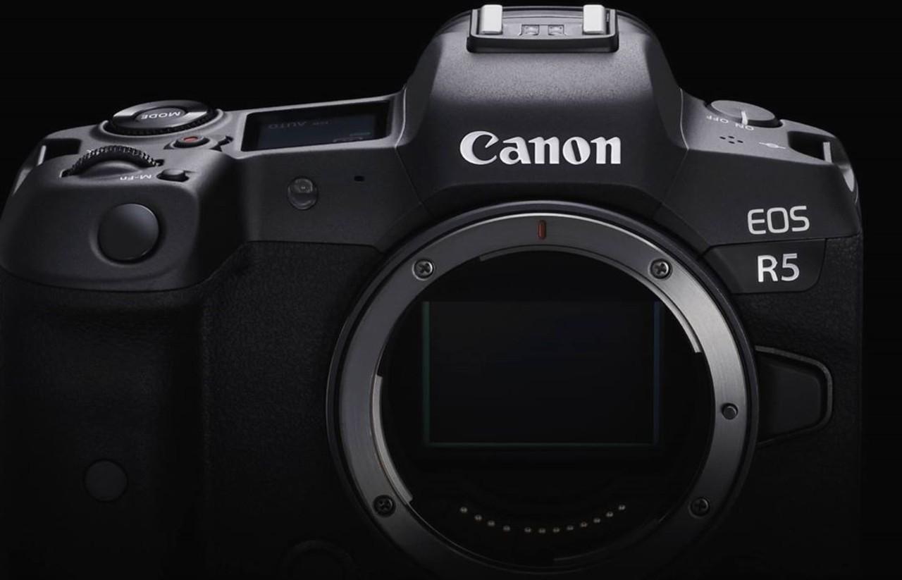 Canon EOS R5 Header.