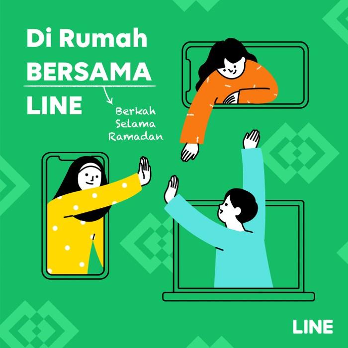 Di Rumah bersama Line