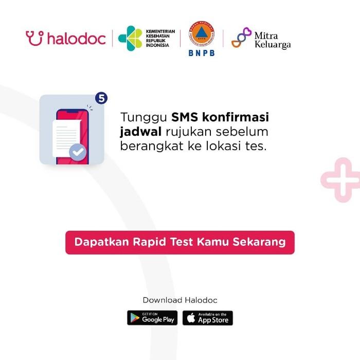 Fitur Cara Mengakses Rapid Test Halodoc