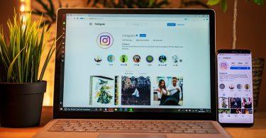 Fitur DM Instagram Versi Web Header