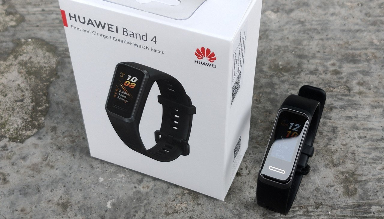 Review HUAWEI Band 4 Header