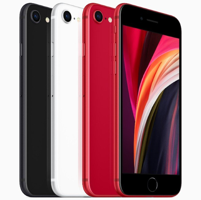 IPhone SE2 Red, White, Black Color