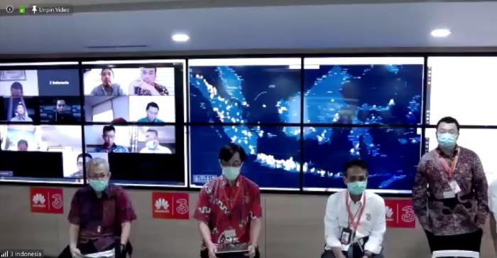 Kunjungan virtual Menkominfo ke NOC 3 Indonesia