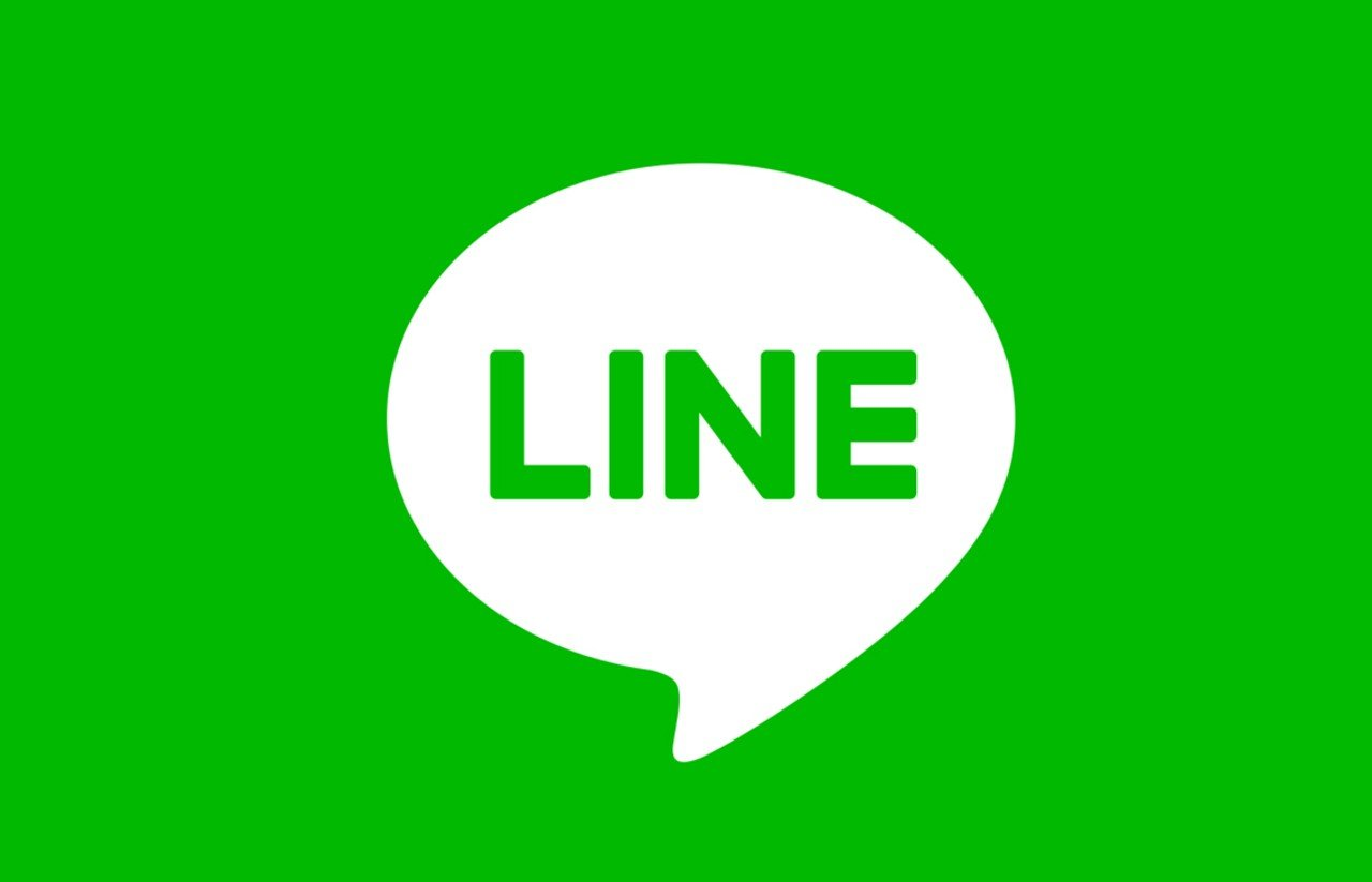 LINE Logo Header