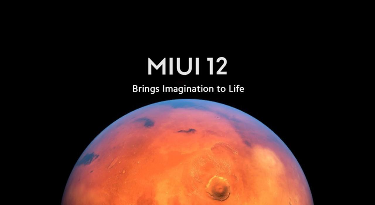 MIUI 12 Header