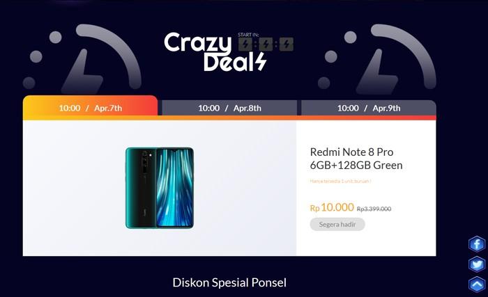 Mi Fan Festival 2020 Crazy Deal