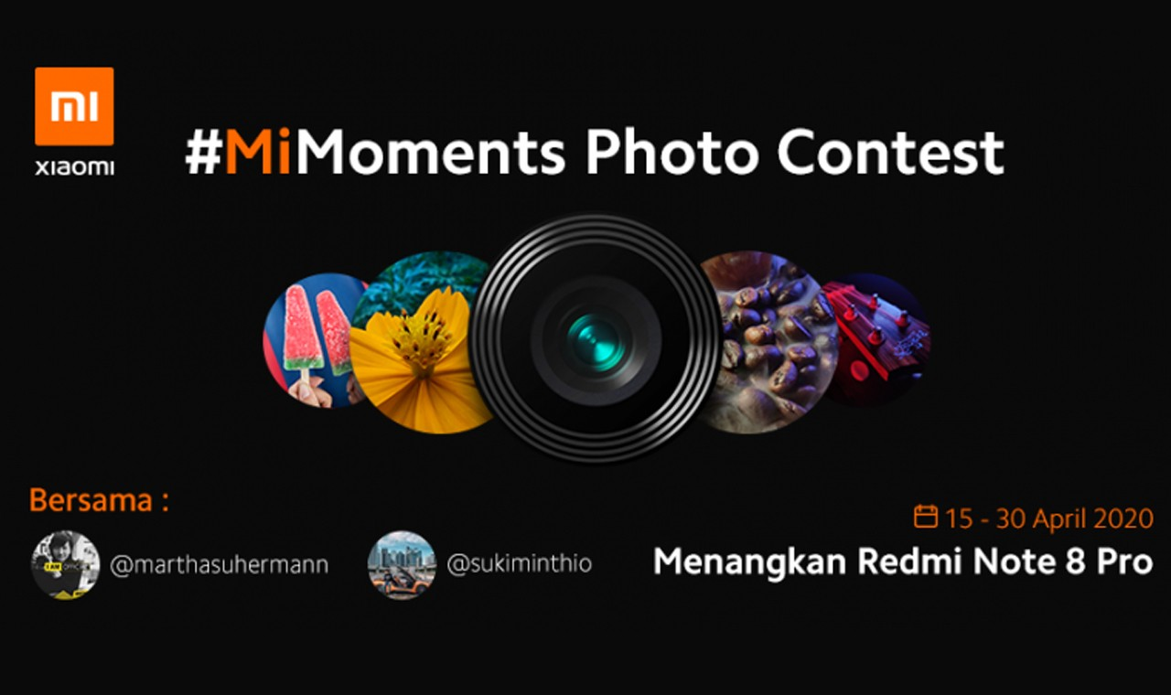 MiMoments Photo Contest Header