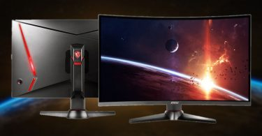 Monitor Gaming Melengkung