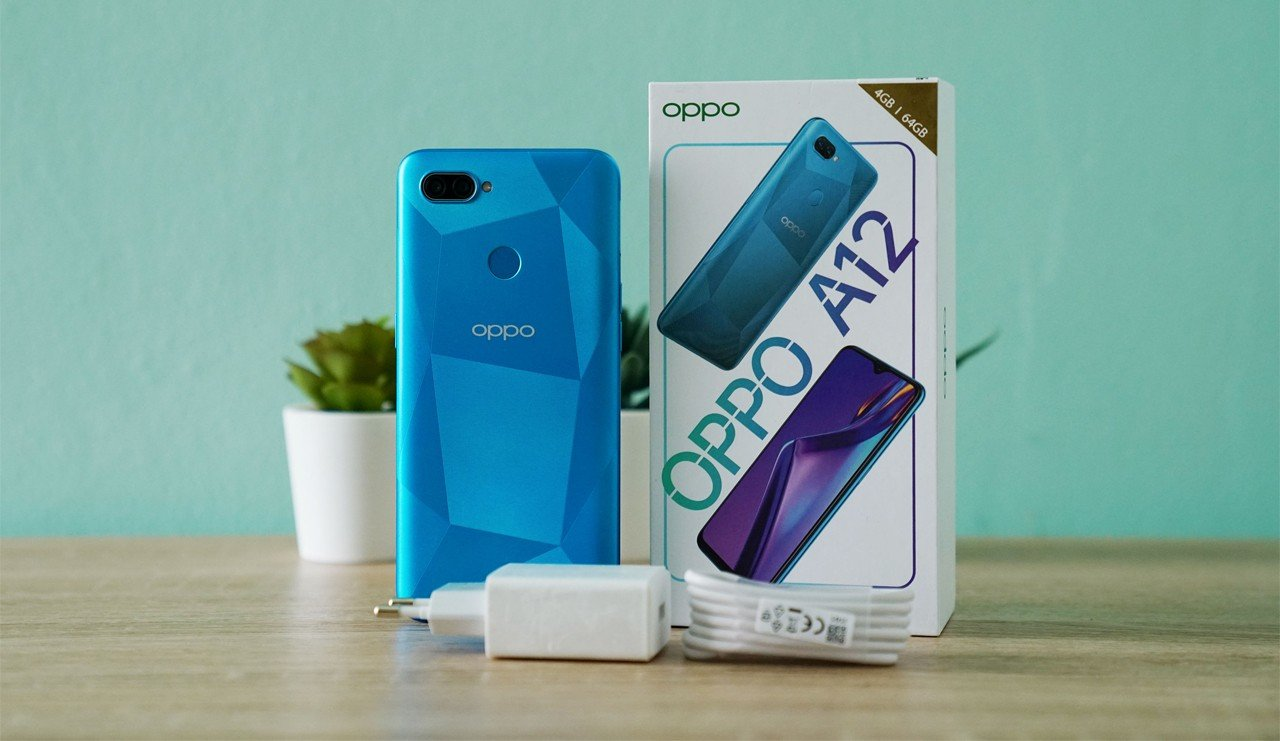 OPPO A12 Unboxing