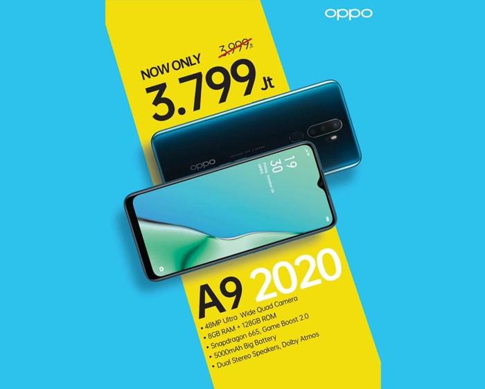 OPPO A9 2020 Diskon