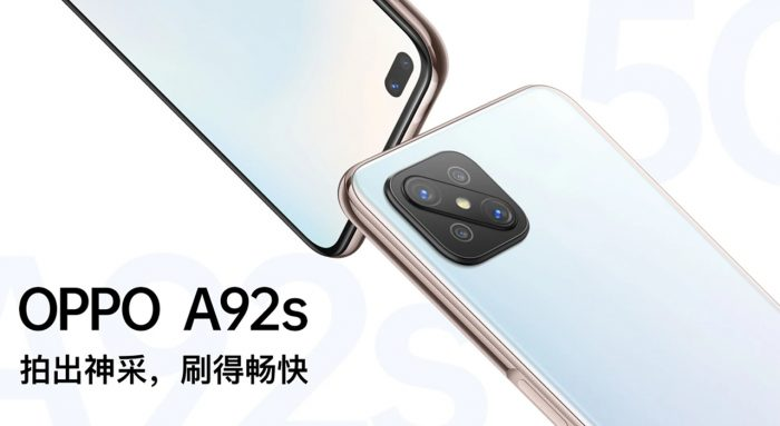 OPPO A92s Display