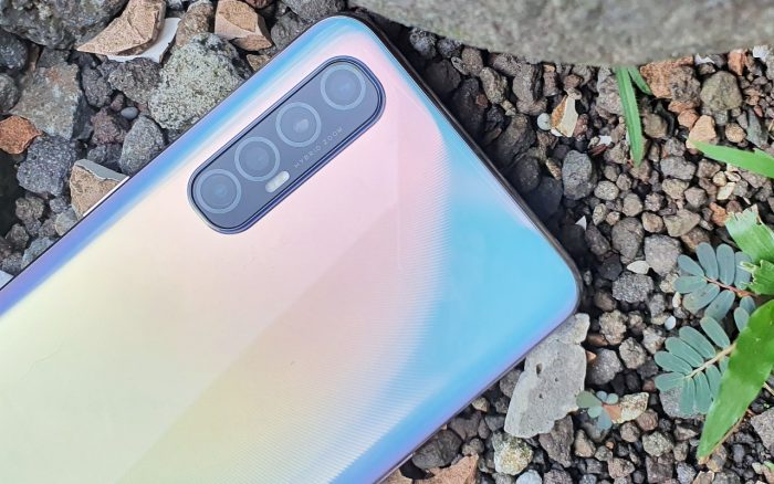 OPPO Reno3 Pro Quad Camera Header