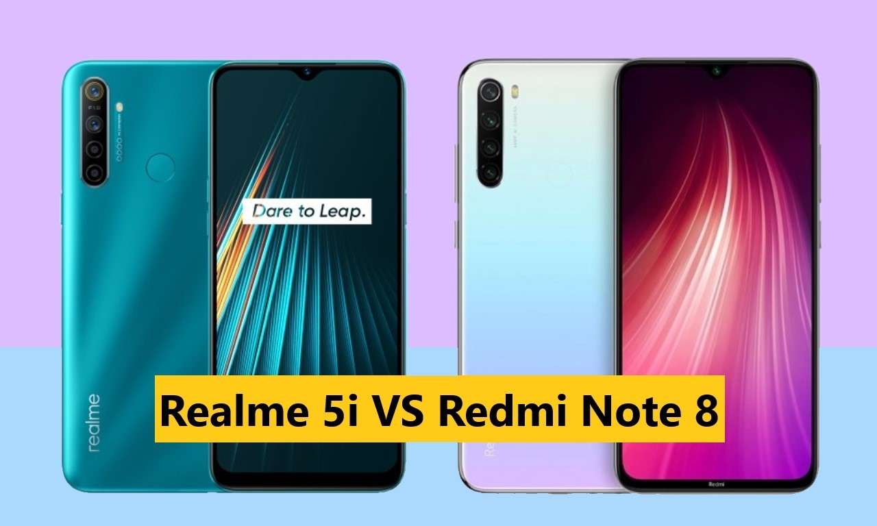 Realme 5i VS Redmi Note 8 Header