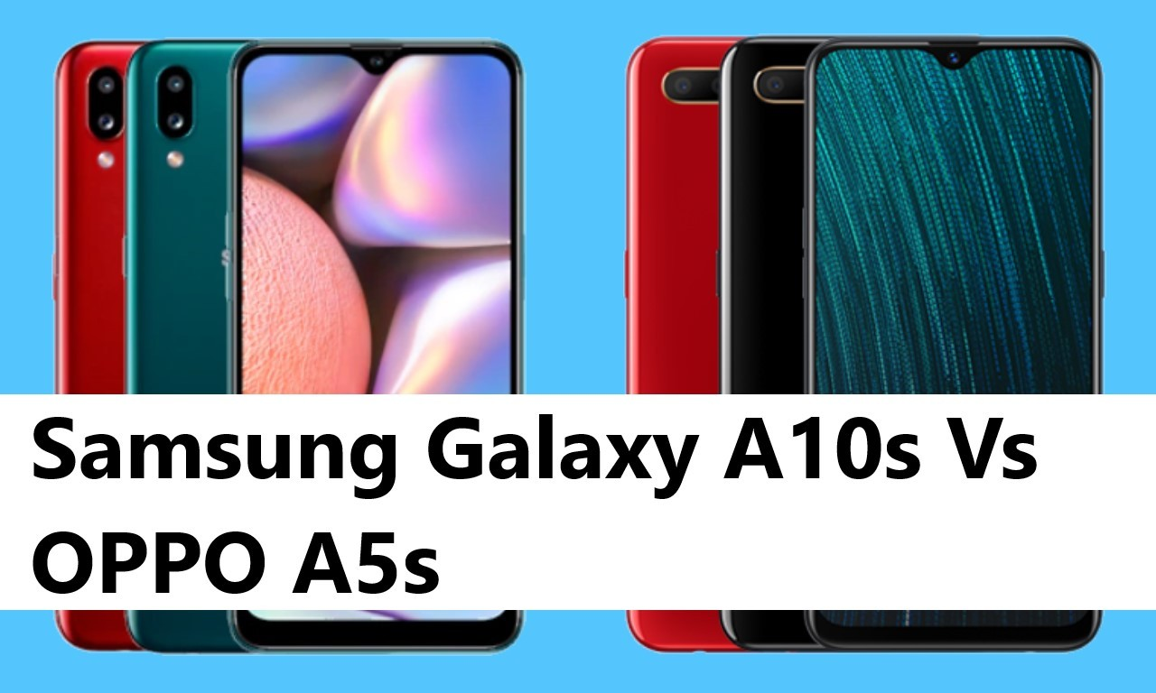 Samsung Galaxy A10s Vs OPPO A5s Header
