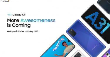 Samsung Galaxy A31 Featurez