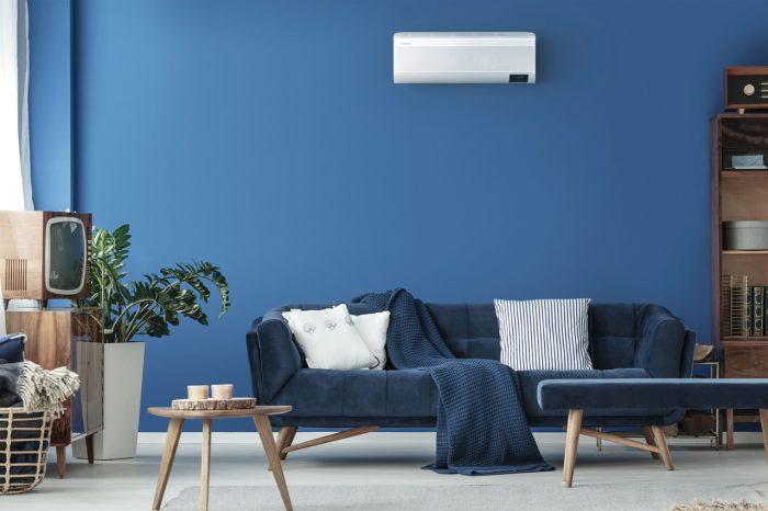 Samsung Wind-Free AC Blue