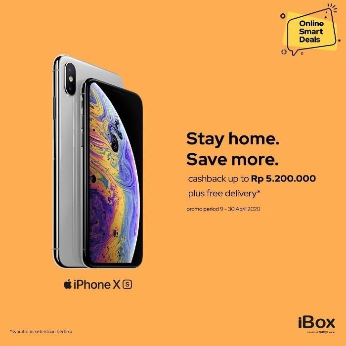 Stay home, save more online smart deals iBox Indonesia.