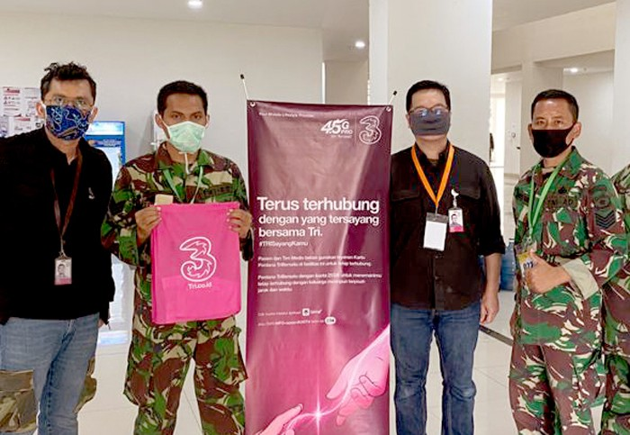 Tri Indonesia Wisma Atlet
