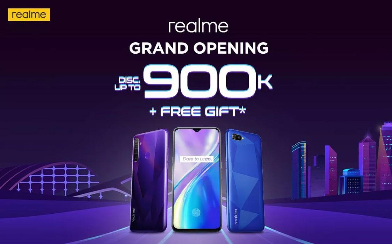 grand opening realme jd.id header