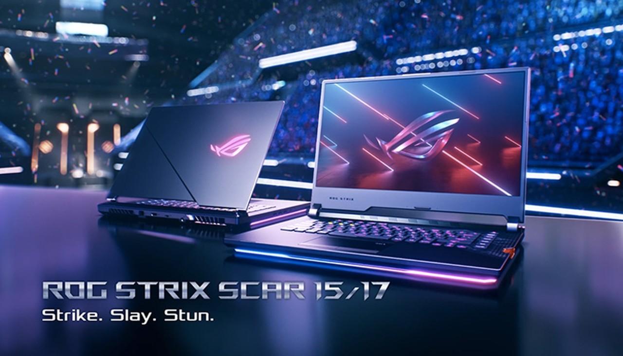 ASUS ROG Strix SCAR 1517 Header