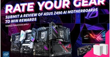 ASUS Rate Your Gear Header