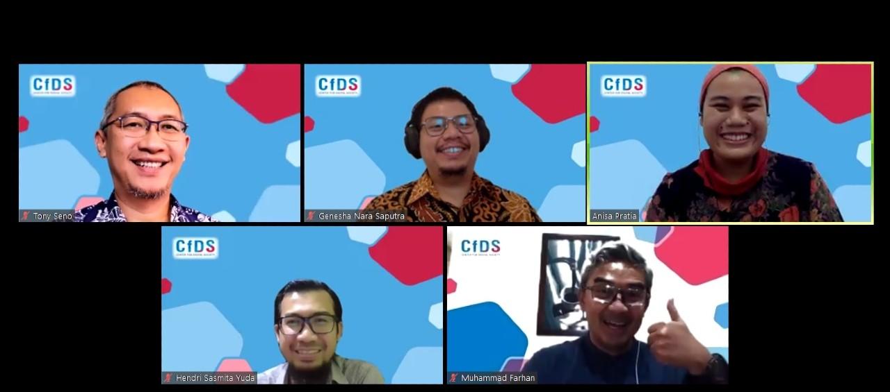 Aman Beraktivitas di Platform Digital Selama Pandemi COVID-19 Header.