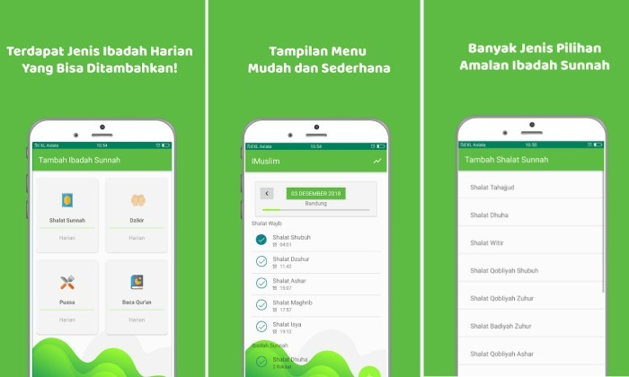 Aplikasi Jurnal Ramadhan - IMuslim