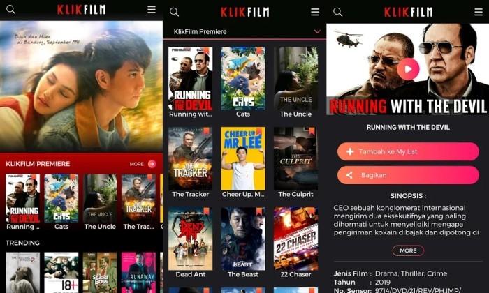 Aplikasi Streaming yang Cocok Buat Ngabuburit Selama Pandemi - KlikFilm