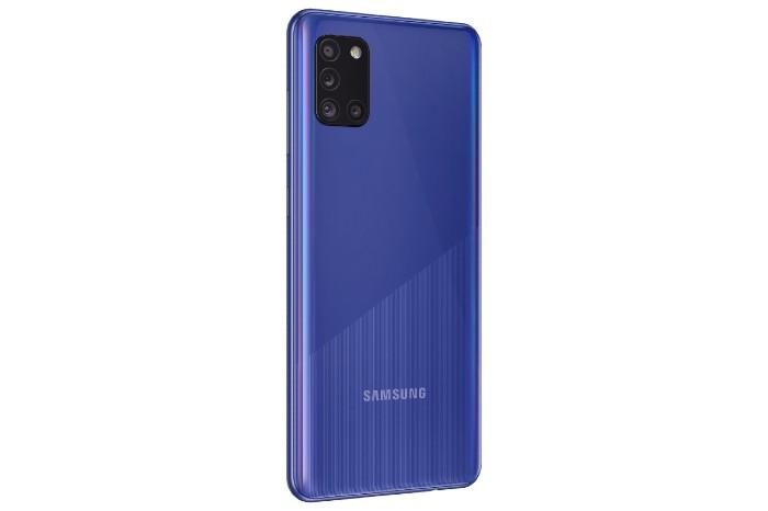 Galaxy A31 Rear Look Blue