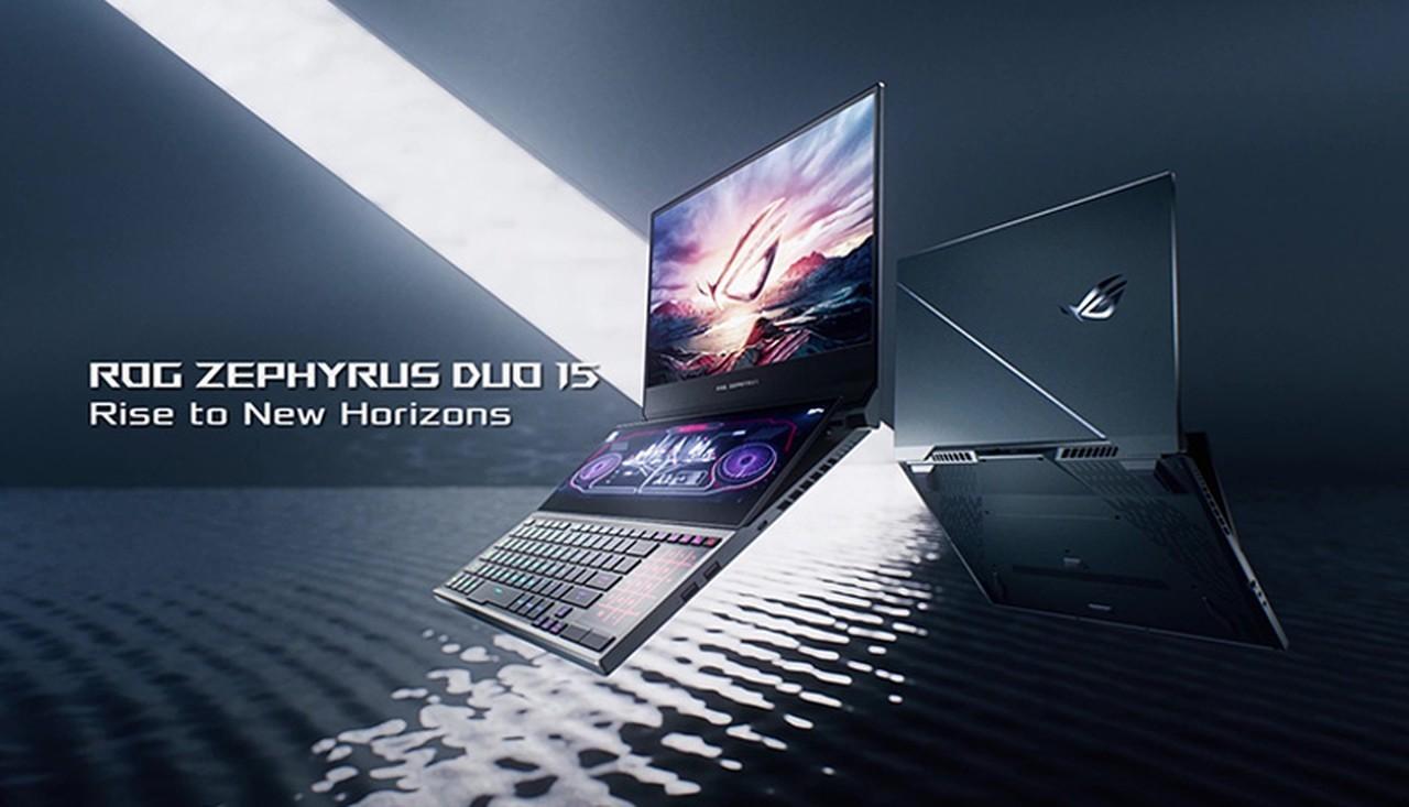 ROG Zephyrus Duo 15 Header Header