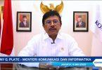 Jhonny G Plate Menteri Kominfo Header