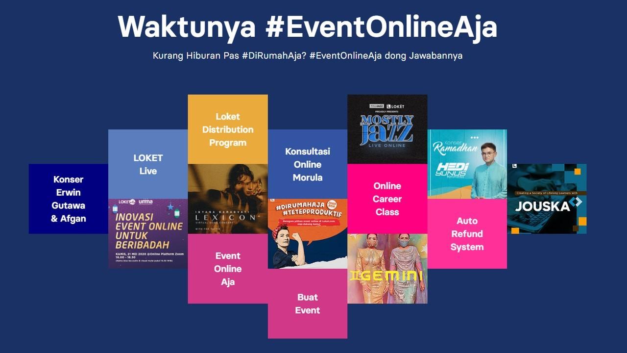 Loket Event Online Header