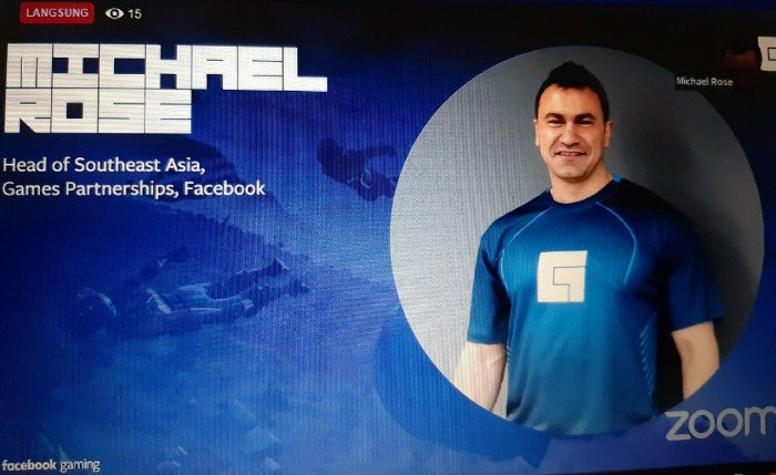 Michael Rose Head of Southeast Asia Games Partnerships Facebook.