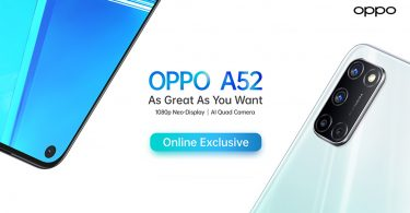 OPPO A52 Featurez