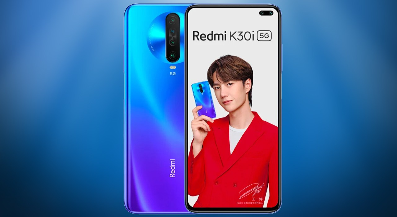 Redmi K30i Feature Blue