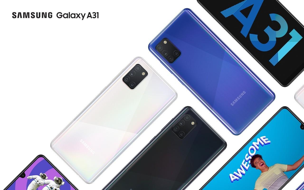Samsung Galaxy A31 Header