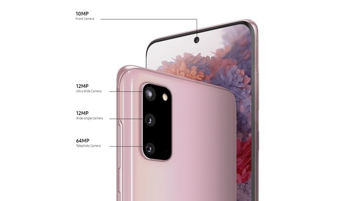 Samsung Galaxy S20 Dirumahaja Layar