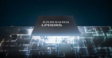 Samsung LPDDR5 RAM