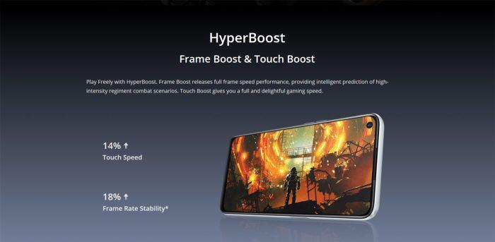 realme 6s HyperBoost